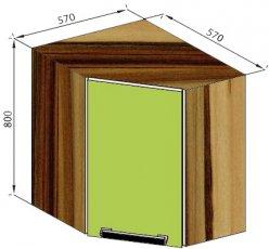 Модуль В 60*60 верх кухня Зара