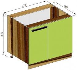 Модуль Н 100 низ кухня Зара