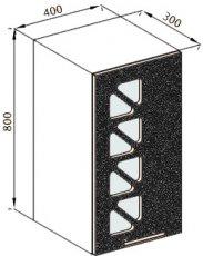 Модуль В 40Дз верх кухня Нана
