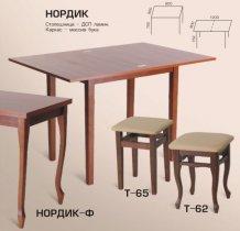Стол Нордик Ф 600(1200)*800