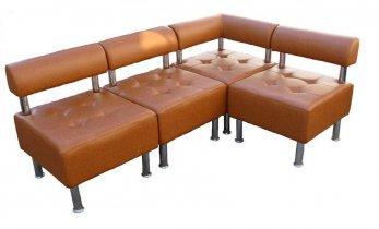 Модульный диван Домино 1 Секция Б - угловая секция