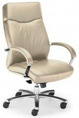 Кресло для руководителя Rapsody steel chrome