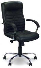 Кресло для руководителя Orion steel LB chrome (низкая спинка)