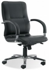 Кресло для руководителя Star steel LB chrome (низкая спинка)