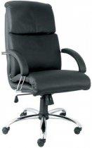 Кресло для руководителя Nadir steel chrome (comfort)