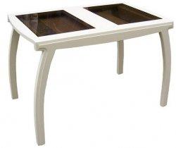 Кухонный стол Лидер плюс стекло