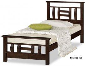 Кровать Onder Metal Wood Beds SB 7300 (O) 190x90см