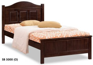 Кровать Onder Metal Wood Beds SB 5000 (O) 190x100 см