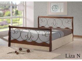 Кровать Onder Metal Metal&Wood Liza N (Лиза Н) 200x160см