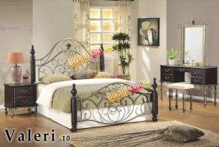 Кровать Onder Metal Metal&Wood Valeri-10 200x180см