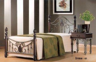 Кровать Onder Metal Metal&Wood Irma-03 (Ирма-03) 190x90см