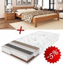 Комплект кровать Рената+матрас Daily 2in1 160см