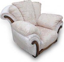 Кресло Амелия с деревянными вставками