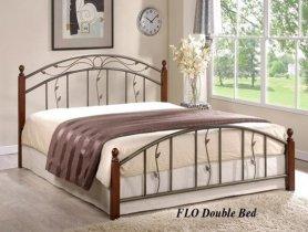 Кровать Onder Metal Metal&Wood Flo (Фло) 200x160см