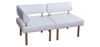 Офисный модульный диван Тетра Угловой сегмент