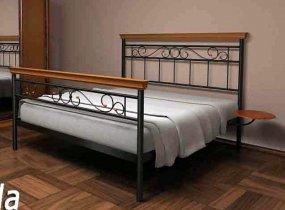 Кровать Эсмеральда Plus - ширина 160см с низкой спинкой у ног