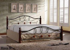 Кровать Onder Metal Metal&Wood Hava N (Хава Н) 200x180см