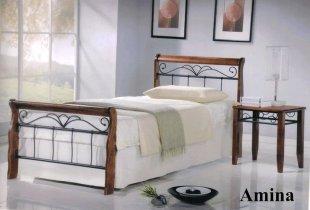 Кровать Onder Metal Metal&Wood Amina S (Амина С) 190x90см