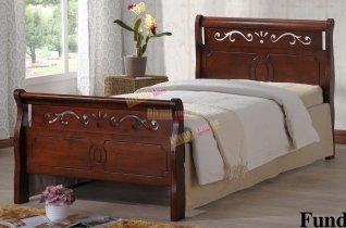 Кровать Onder Metal Metal&Wood Funda 200x90см