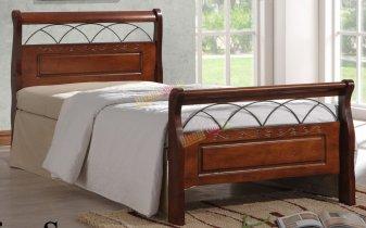 Кровать Onder Metal Metal&Wood Nina S 200x90см