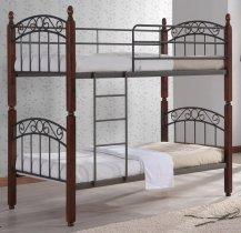 Кровать двухярусная Onder Metal Metal&Wood DD  Liya (Лия) 190x90см