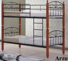 Кровать двухярусная Onder Metal Metal&Wood DD Arzu (Азру) 190x90см