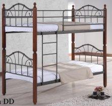 Кровать двухярусная Onder Metal Metal&Wood DD  Mira (Мира) 190x90см