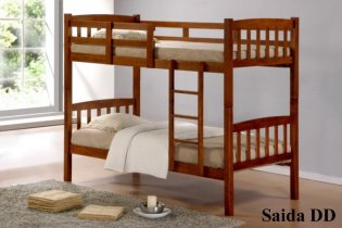 Кровать двухярусная Onder Metal Metal&Wood DD Saida (Саида) 190x90см