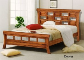 Кровать Onder Metal Wood Beds Denver (Денвер) 200x160 см