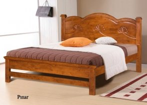 Кровать Onder Metal Wood Beds Pinar (Пинар) 200x160см