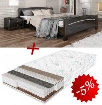Комплект кровать Венеция+матрас Daily 2in1 - 180см