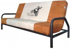 Ортопедический диван-кровать Novelty 01 / Новелти 01 с подлокотниками