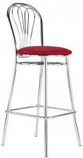 Барный стул Venus hoker chrome