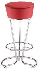 Барный стул Pinacolada hocker chrome