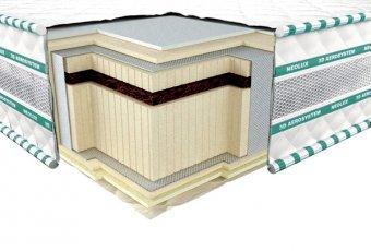 Матрас в вакуумной упаковке 3D Aerosystem Neoflex Bio - ширина 140см