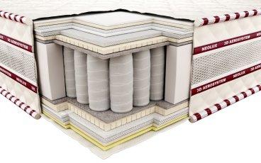 Ортопедический матрас Неолюкс 3D Магнат зима-лето - ширина 140см