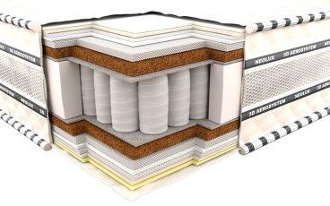 Ортопедический матрас Неолюкс 3D Кинг - ширина 80см
