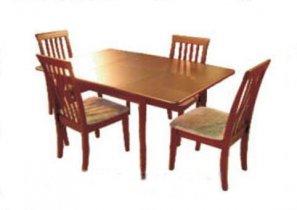 Стол обеденный раскладной EXT SQ36+18 D4