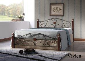 Кровать Onder Metal Metal&Wood Vivien (Вивьен) 200x140см