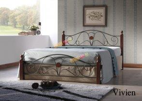 Кровать Onder Metal Metal&Wood Vivien 200x160см