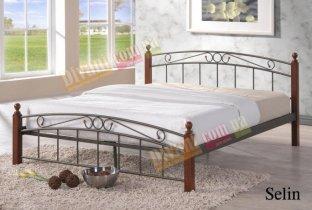 Кровать Onder Metal Metal&Wood Selin 200x160см