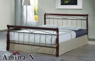 Кровать Onder Metal Metal&Wood Amina N (Амина Н) 200x160см