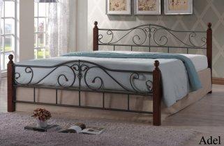 Кровать Onder Metal Metal&Wood Adel (Адель) 200x160см