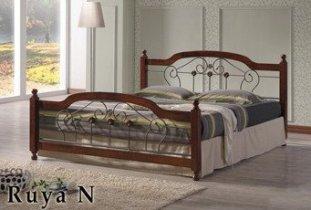 Кровать Onder Metal Metal&Wood Ruya N (Руя Н) 200x160см