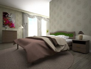 Кровать ТИС Юлия-2 - 90см