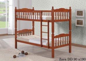 Кровать двухярусная Onder Metal Metal&Wood Zara DD (Зара) 190x90см
