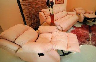 Кожаное кресло Далио Шахерезада (Электрический реклайнер)