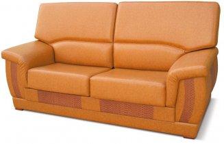 Кожаный диван Барон