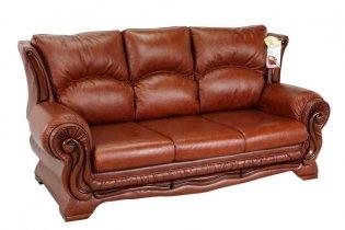 Кожаный диван Версаль - 2
