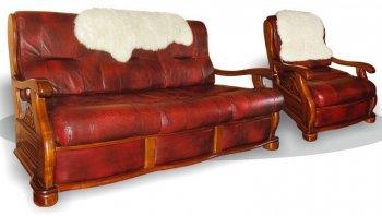 Кожаный диван Триумф